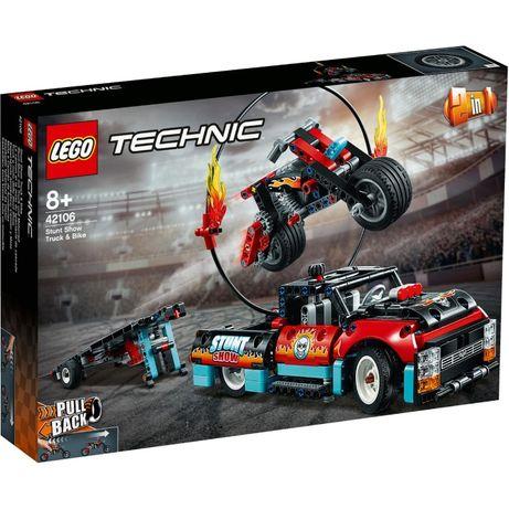 LEGO Technic 42106 Moto e Camião - NOVO