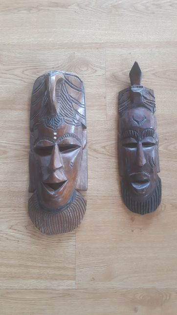 Maski drewniane