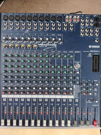 YAMAHA MG166CX + twardy case - mikser muzyczny