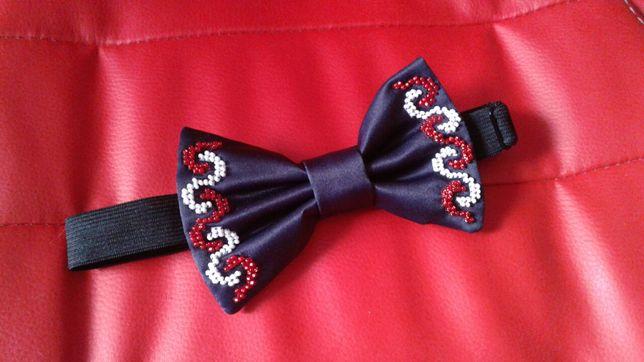 Подарок для мужчины стильный галстук бабочка