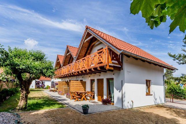 Całoroczny Domek Nowy 50m2 100m od plazy Mielno  bon turystyczny