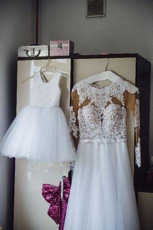 suknia ślubna, Suknia koronkowa