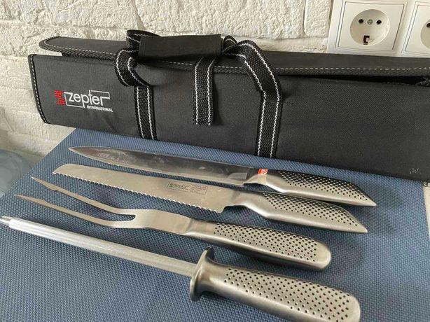 Ножи, вилка,точилка Zepter цептер