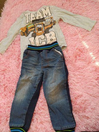 Zestaw ubrań dla chłopca 98