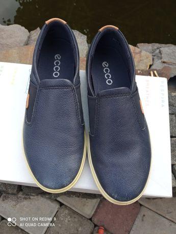 Макасины  туфли для мальчика ECCO