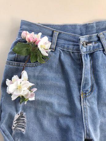 Сині рвані джинси No Name