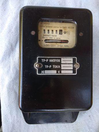 Трехфазный счетчик активной энергии СА4У-И672М