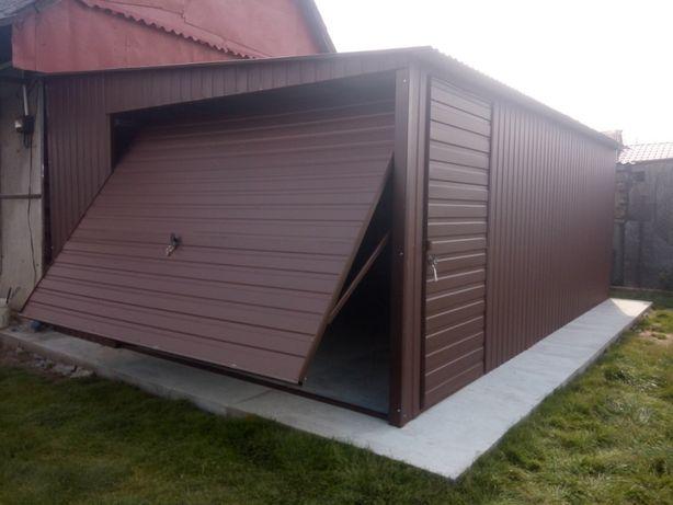 PRODUCENT! Garaż blaszany, wiaty, garaże, schowki, bramy, konstrukcje,