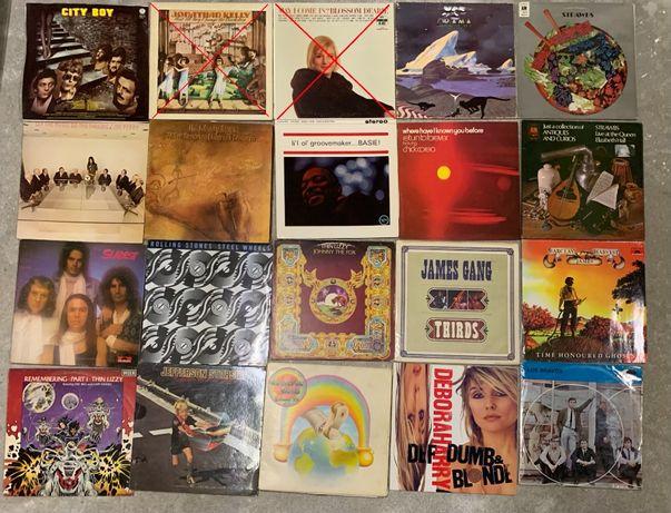 Winyle m.in. Slade, Strawbs, Chic Corea, Thin Lizzy, Jefferson Starshi