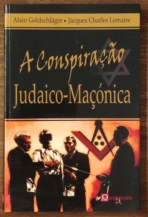 a conspiração judaico-maçónica, alain goldscläger Estrela - imagem 1
