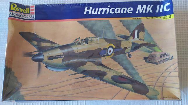 Modelismo Avião 1:32 Revell Monogram Hurricane MK IIC - NOVO