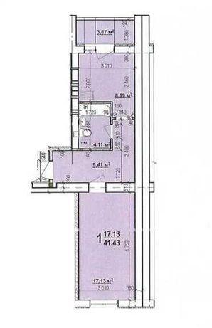 Продам Свою 1 комнатную квартиру на ЖК Мира 4 с ремонтом. Собственник