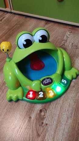 Zabawka edukacyjna Bright Starts trampolina żaba 3 jezyki