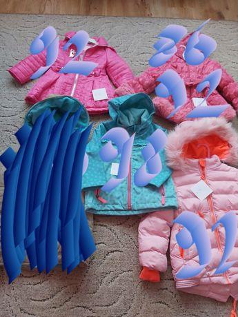 Kurtka kurtki zimowa dziewczynka