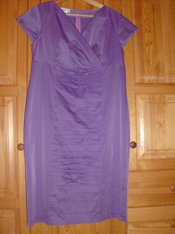 Elegancka sukienka Anna rozm. 46 + Gratis.