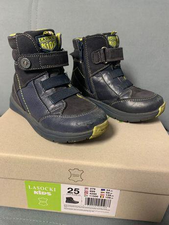 Buty dziecięce zimowe skórzane Lasocki KIDS rozmiar 25