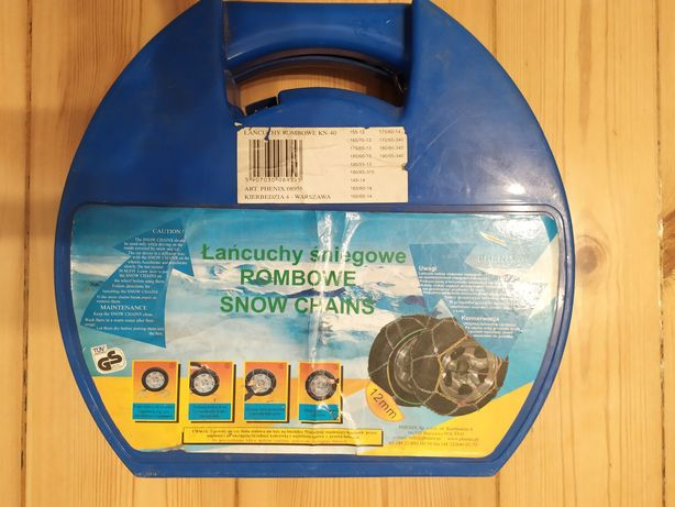 """Łańcuchy śniegowe na koła 13"""" 14"""""""