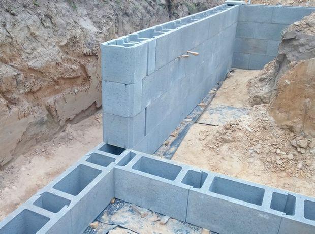 Pustak szalunkowy bloczek fundamentowy 247x490x240