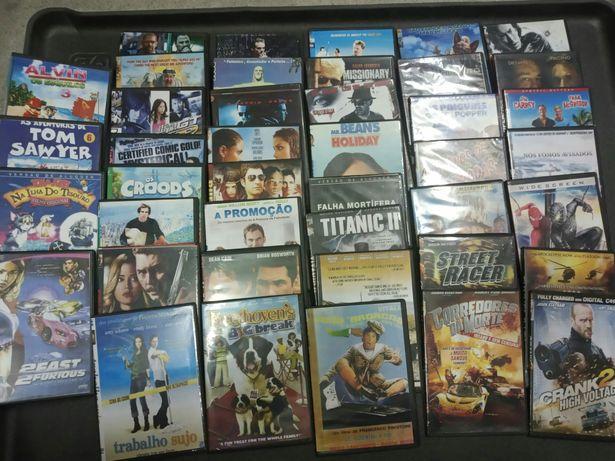 Filmes DVD adulto e criança lote