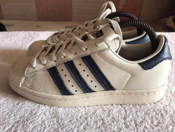 Adidas кожаные кроссовки оригинал 36,5 р