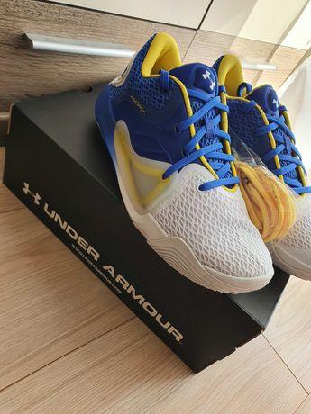 Nowe męskie buty do koszykówki Under Armour Spawn 2 rozmiar 42