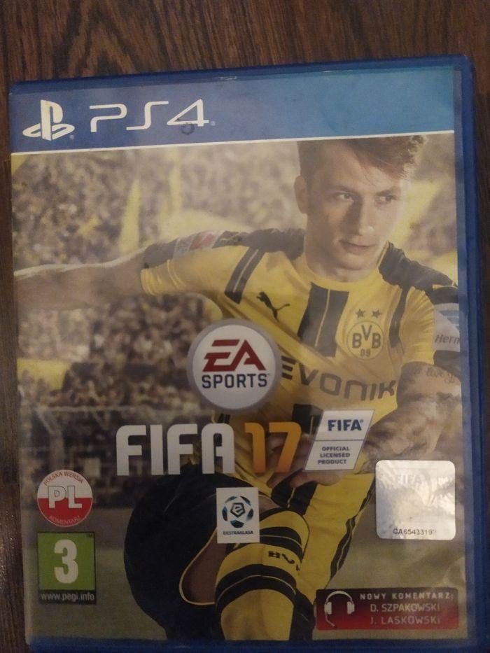 Sprzedam grę FIFA 17 na PS4 Pruszków - image 1