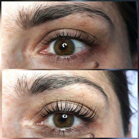 Lifting botox laminacja henna rzęs Elleebana, stylizacja rzęs makijaż