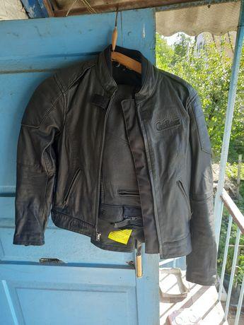 Мото костюм комбинезон защита женский мужской кожаный штаны курточка