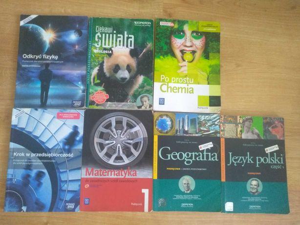 Podręczniki dla szkół ponadgimnazjalnych