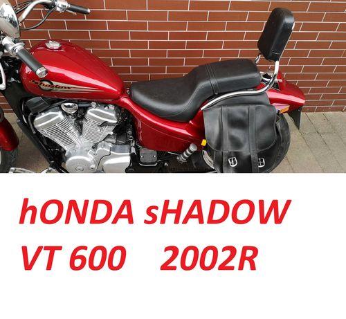 Honda Shadow Vt 600  2002r Niski Przebieg Transport cała POLSKA xvs