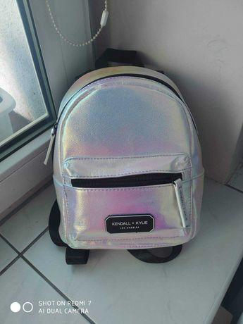 Nowy plecaczek różowy hologram
