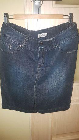 Spódnica dżinsowa, jak nowa, rozmiar 38, M - wysylka w cenie