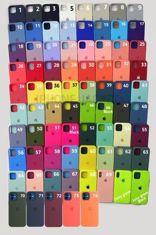 чехол Silicone Case для айфон iPhone 7/8 7plus/8plus X/Xs Xr XsMax