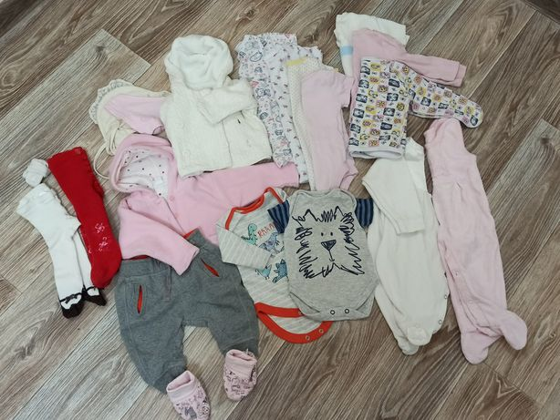 Пакет детский вещей 1-4 месяца