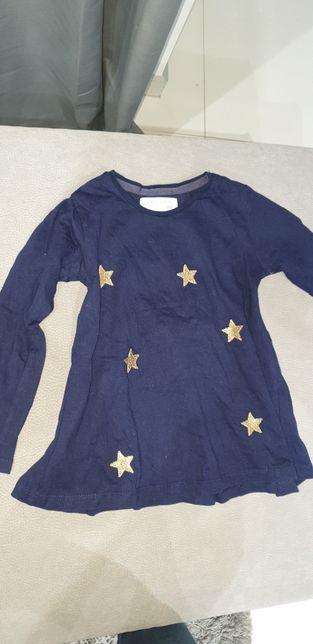 Bluzeczka w gwiazdki 104cm