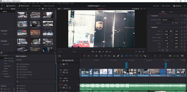 Montaż filmu wideo klipów postprodukcja obróbka wideo