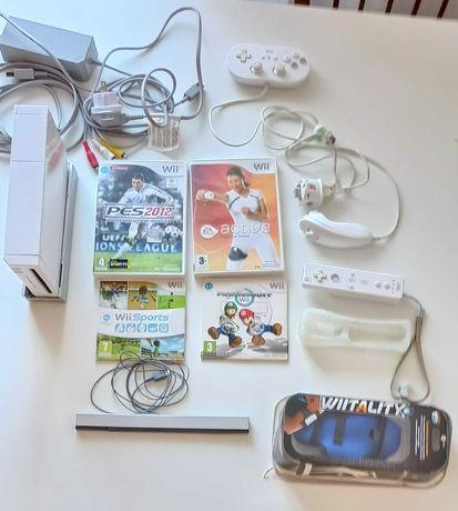 Consola WII completo + Jogos