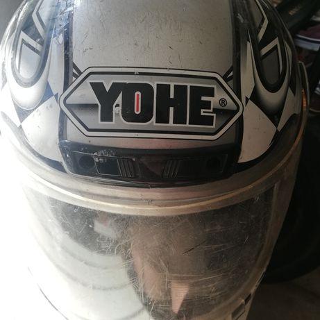 Kask na motor yohe xl
