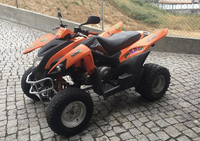 Moto 4 Adly ATV 320