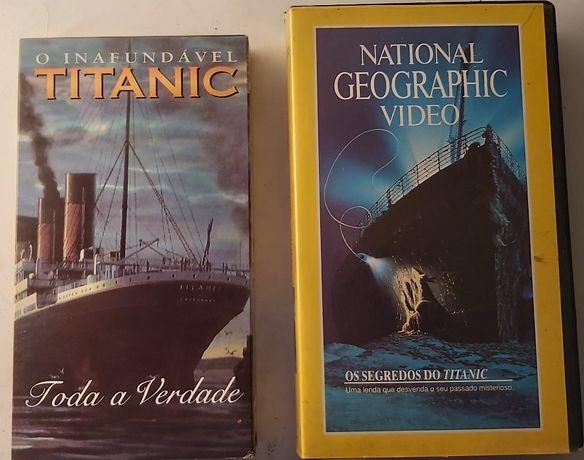 TITANIC Filmes VHS - Históricos