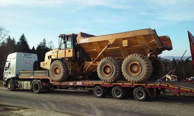 Maszyny Budowlane Transport Niskopodwoziowa Podczołgówa Niskopodwozie