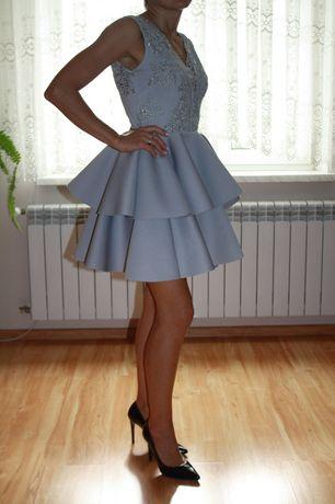 Suknia , sukienka wieczorowa wesele Turecka jak nowa r. 36.