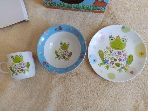 Детская посуда из 3 предметов