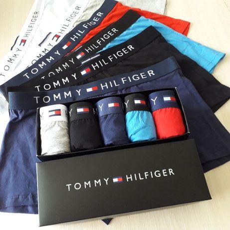 Подарочный набор мужского белья/трусов/боксеров 5 шт. Tommy Hilfiger