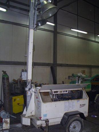 Maszt Oświetleniowy Wieża TEREX RL4000 KUBOTA D-905 rok 2003