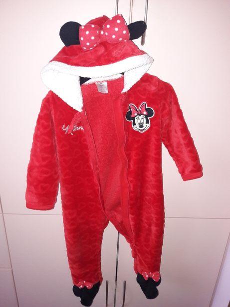 Pajacyk piżamka Disney Minnie 86