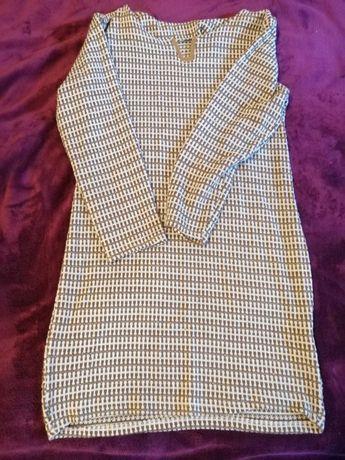 Sukienka wzorzysta mini