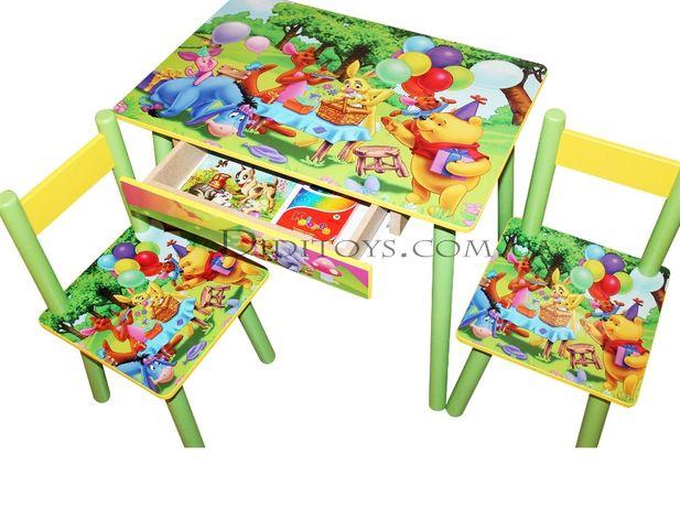Детский столик (стол) Винни Пух. Производитель