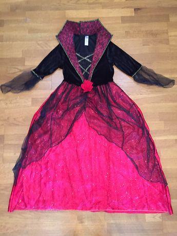 Карнавальное платье Вампирши на Хэллоуин 9-13 лет