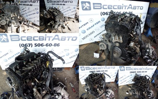 Двигатель мотор QVFA от Ford Transit Форд Транзит 2.2 tdci (2006-2013)